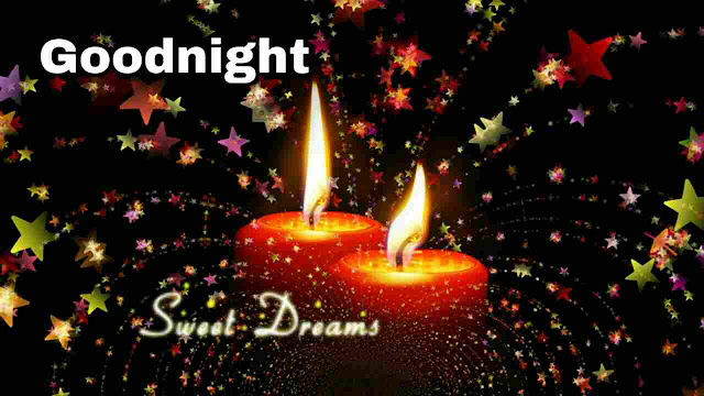Good Night sweet dreams Image , photo , greetings of candle light