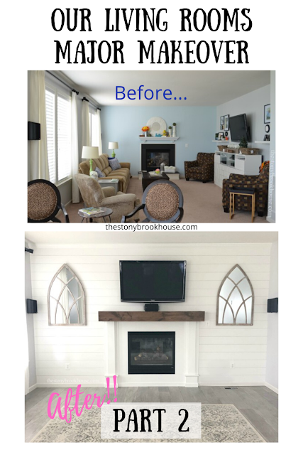 Our Living Room's Major Makeover Part 2