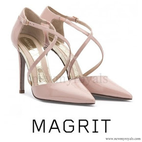 Queen Letizia wore MAGRIT Shoes