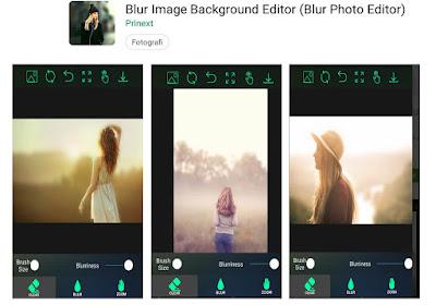 edit foto blur belakang