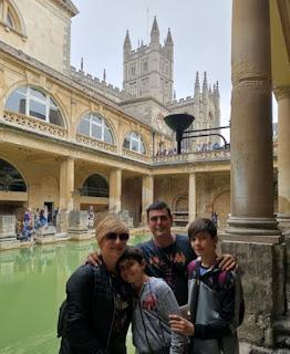 Termas Romanas de Bath.