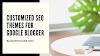 Customized SEO Themes for Google Blogger