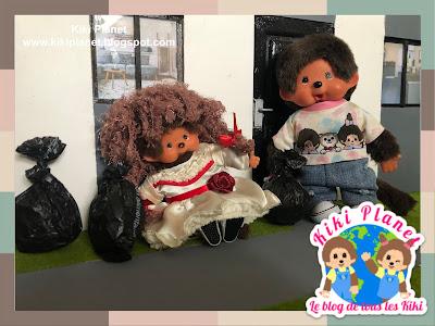 kiki monchhichi Annabelle movie film scary doll poupée horreur