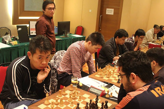 DATMO: Last round with Wang Hao leading!