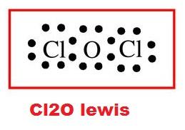 CI2O Lewis Yapısı