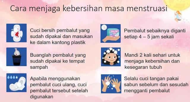 cara menjaga kebersihan menstruasi