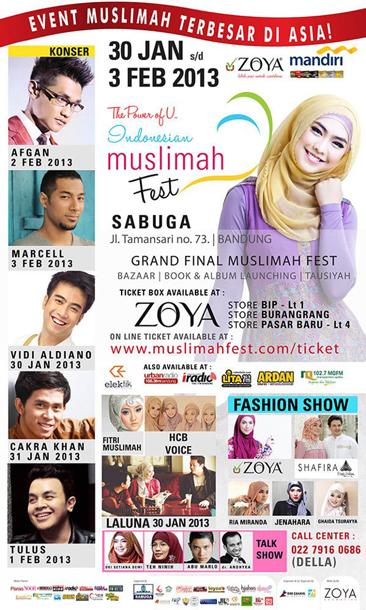 Indonesian Muslimah Fest 2013