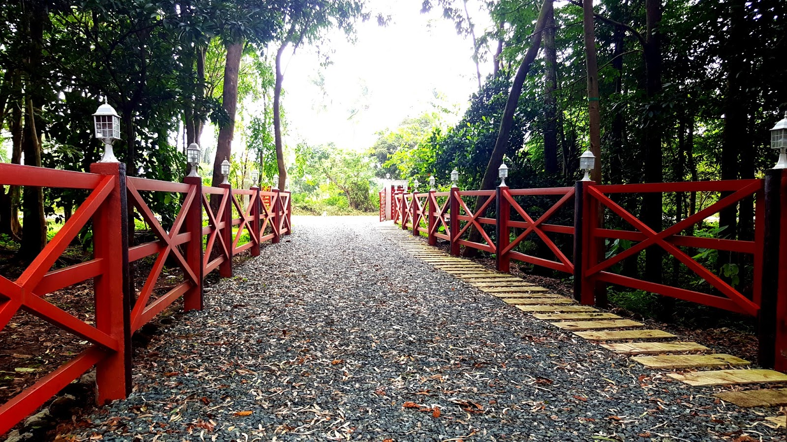 It Is A Favorite Spot For Prenup Pictorials No Need Too Much Props Since The Fence Itself Lamps Gravel And Withered Leaves Can Be Considered