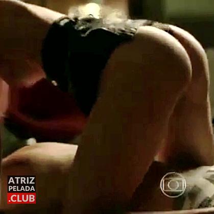 Agatha Moreira nua em cena de sexo com Reynaldo Gianecchini