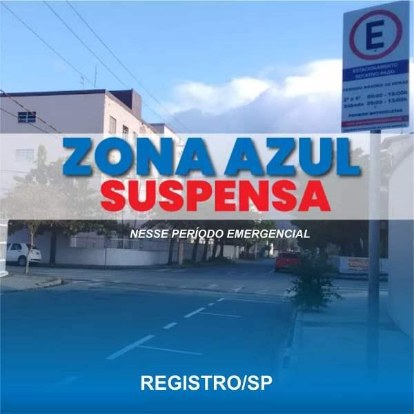 Estacionamento rotativo Zona Azul é suspenso durante Fase Emergencial