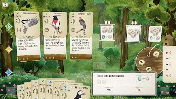 Wingspan digital edition on Steam