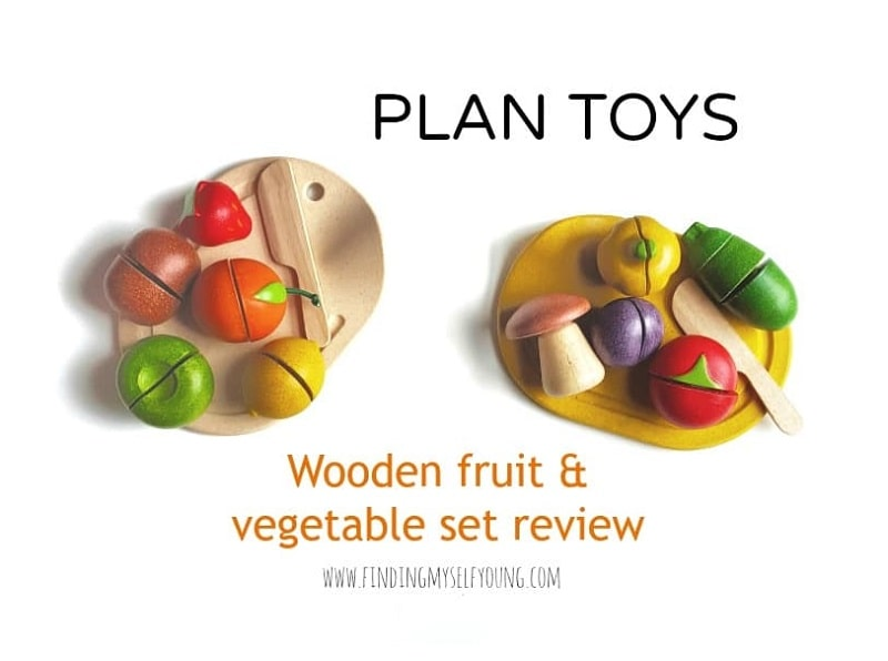 plan toys wooden play food review