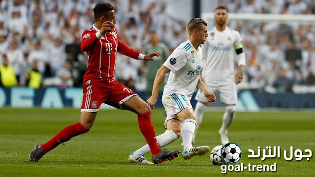 نتيجة مواجهة ريال مدريد وبايرن ميونيخ في الكأس الدولية للابطال