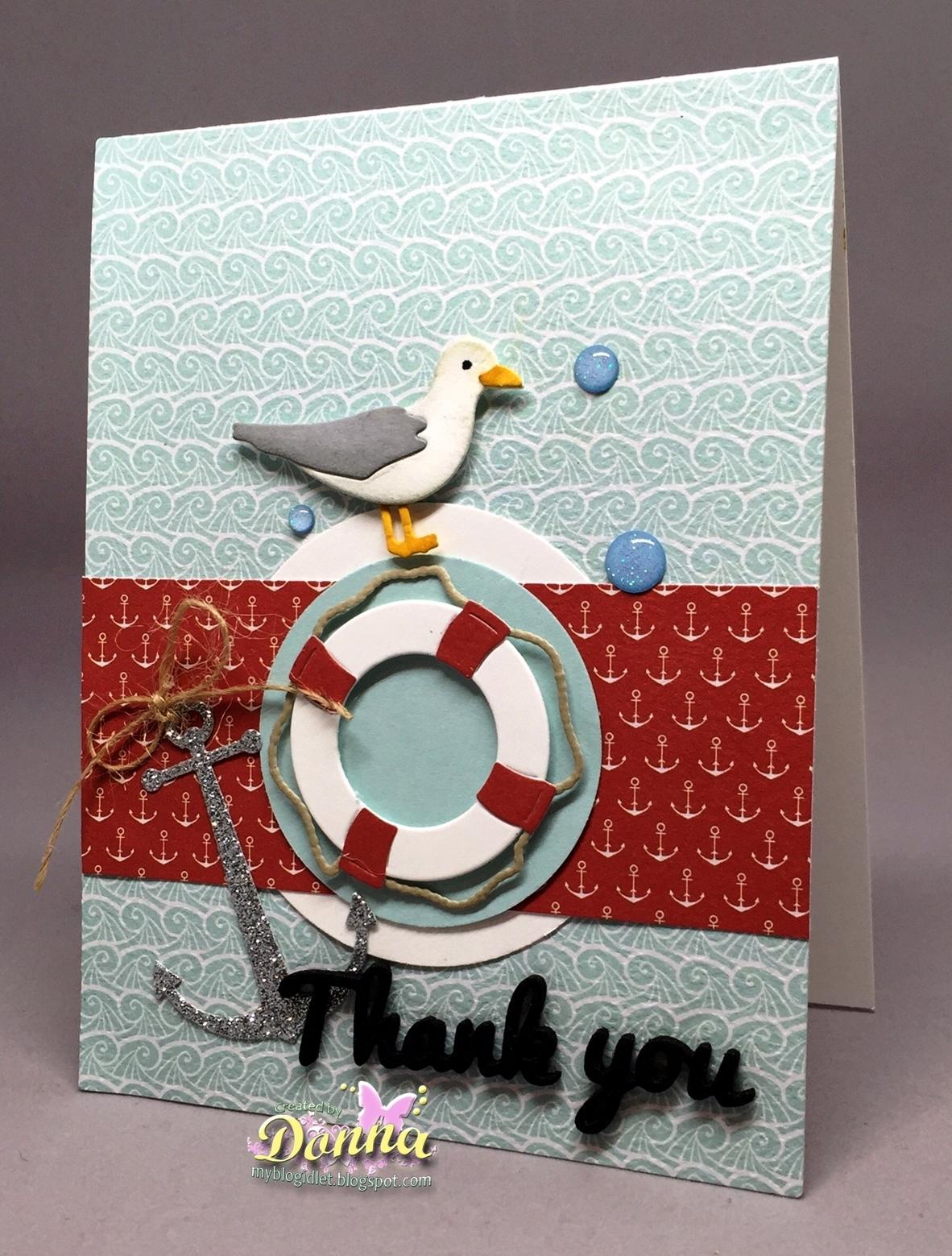 Cottageblog Nautical Thank You