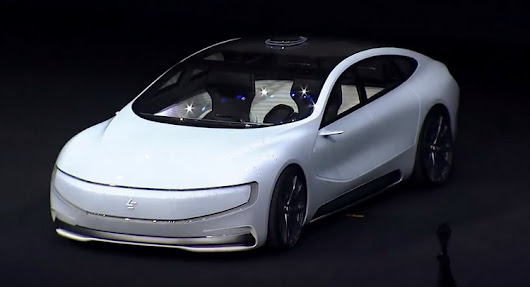 China's Answer To Tesla Breaks Cover: Meet The LeEco LeSEE [21 Pics & Video]