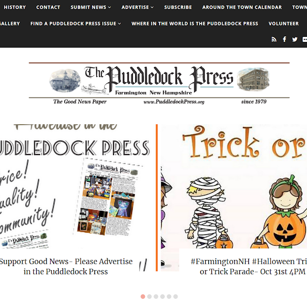 Update to the Puddledock Press Website is Complete!