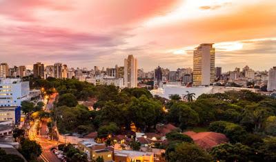 linda vista do estado de Minas Gerais