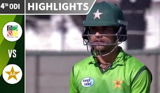 Cricket Highlights - Zimbabwe vs Pakistan 4th ODI 2018