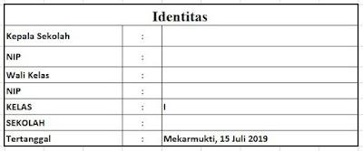 Identitas Program Tahunan dan Program Semester Tahun Ajaran 2019/2020 Kelas 1 SD, http://www.librarypendidikan.com/