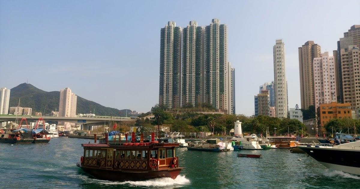 香港魂: 渡る漁港は船ばかり