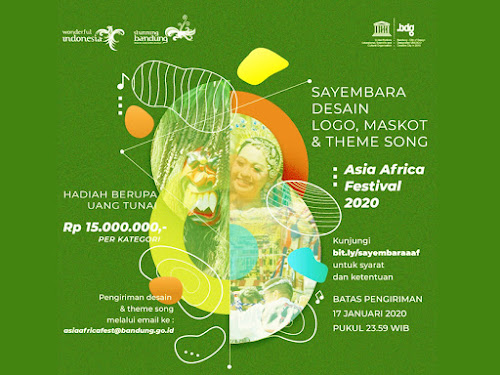 Sayembara Theme Song Asia Africa Festival 2020