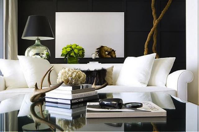 Imagens de decoração preto e branco