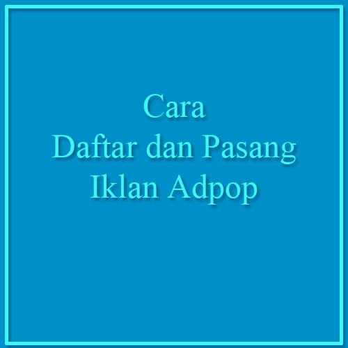 Daftar Adpop