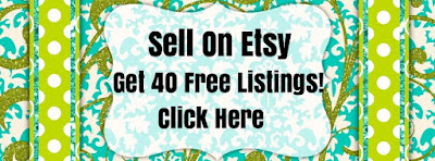Sell on Etsy: Get 40 Free Listings!