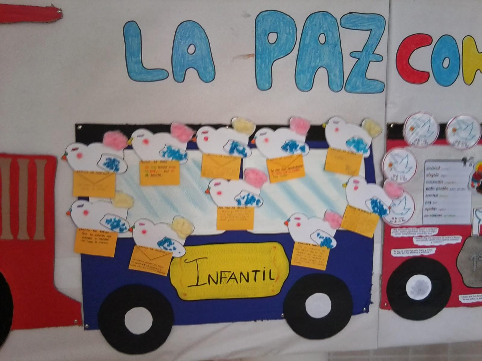 Rincón De Infantil Día De La Paz: El Rincón De Infantil