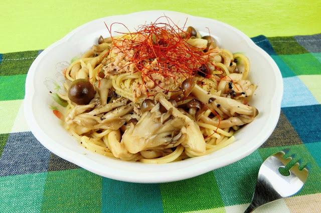 ツナの旨みが美味しい!栄養たっぷりきのことツナの和風パスタ