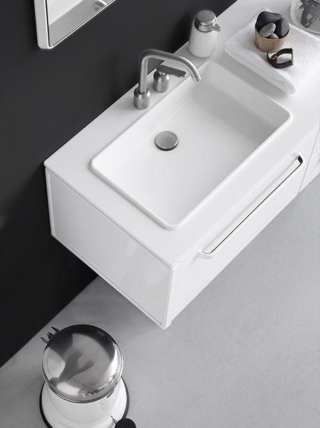 łazienka urządzona nowocześnie