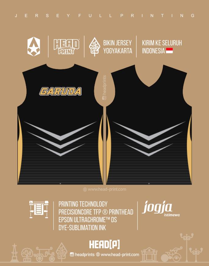 Garuda Jersey Voly Volley Contoh Desain Jersey Voly - Badminton Jersey - Futsal Jersey - Headprint Yogyakarta