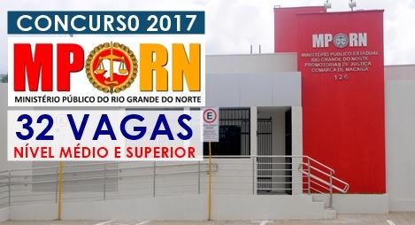 concurso Ministério Público RN 2017