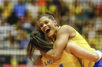 seleção brasileira feminina de vôlei Adenízia Tandara