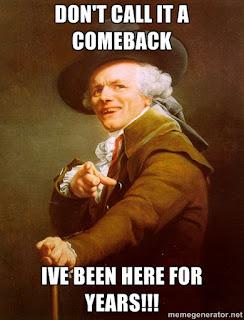 Old pompous dude meme