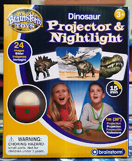 Dinosaur night light and projector from Brainstorm Toys