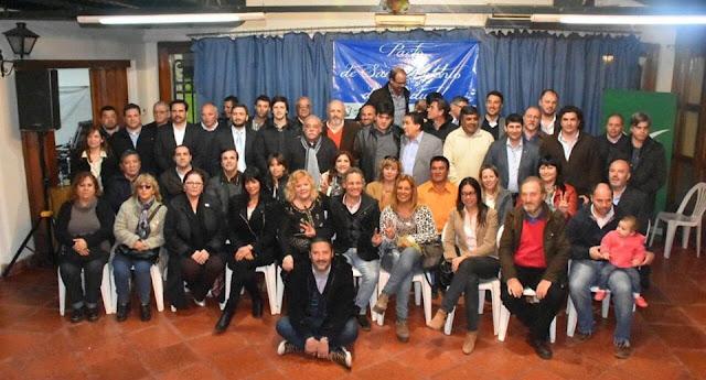 Mirta Praino y Concejales de la Primera Seccion adhieren el Acta del Pacto de San Antonio de Padua