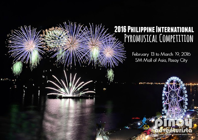 2016 Philippine International Pyromusical Competition SM Mall of Asia