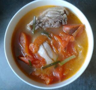 Resep Sup Ayam Tomat