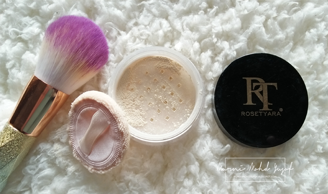 Loose Powder Rosetyara Jadi Pilihan Hati, radiance powder rt