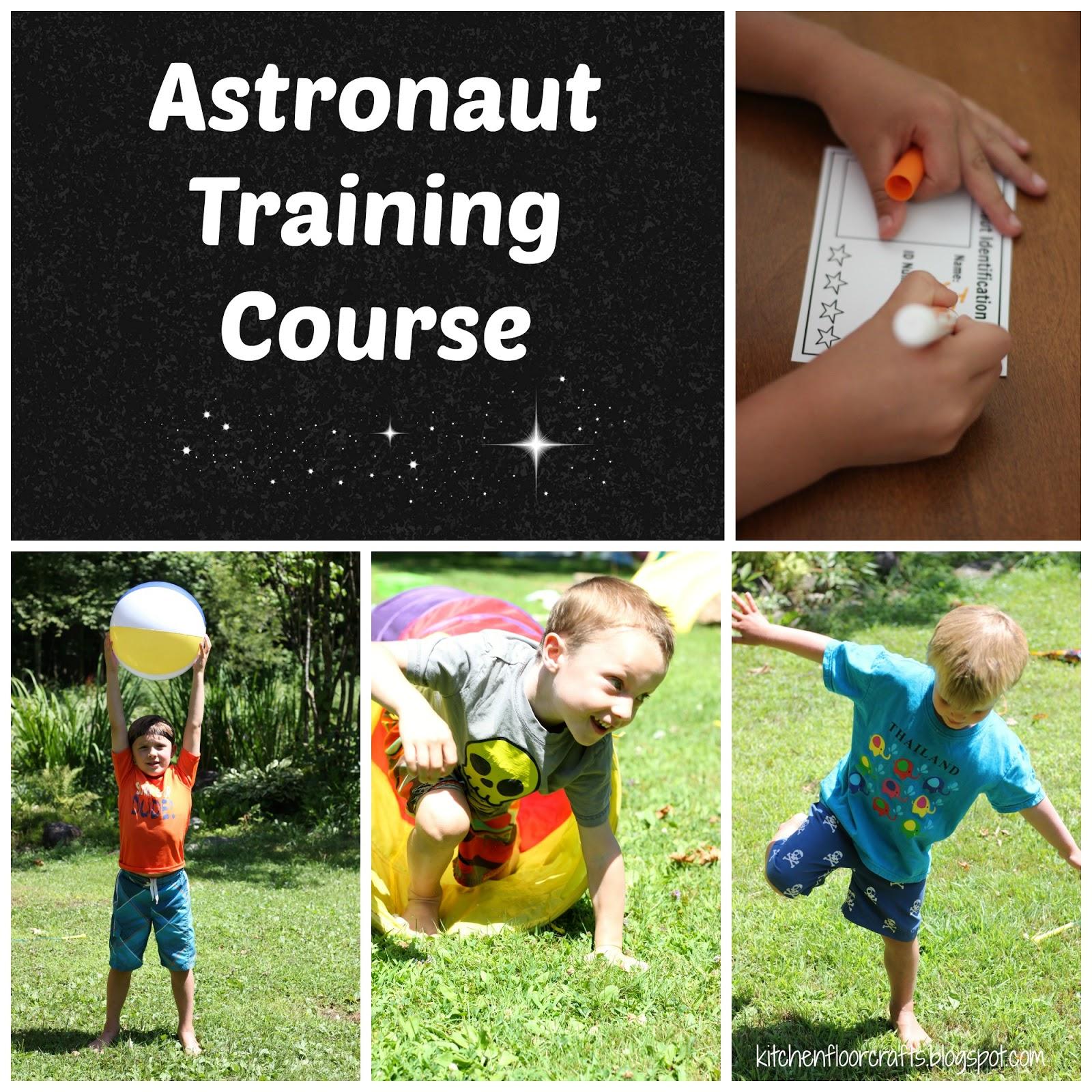 Kitchen Floor Crafts Astronaut Training Course