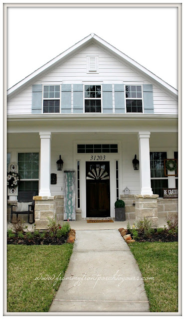 Farmhouse Front Porch-Suburban Farmhouse-From My Front Porch To Yours