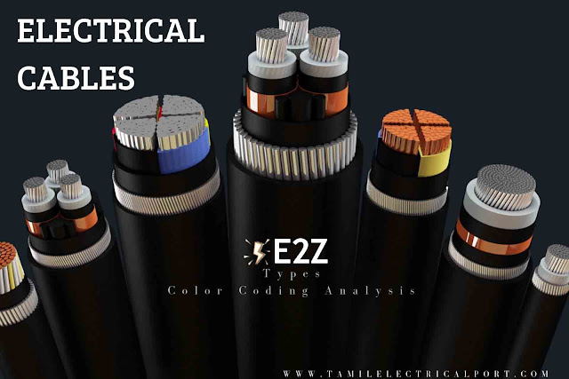 types of electrical cables, cable size, types of cable, cable types, electrical cable, type of electrical wiring, electrical wiring