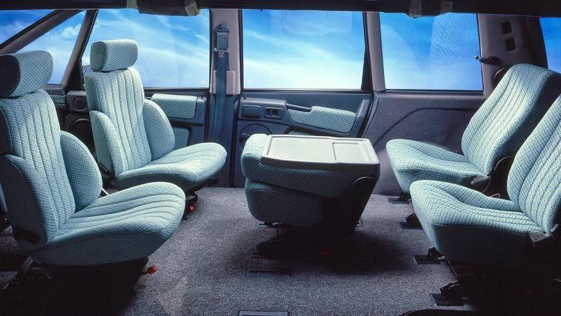 l 39 esth tique automobile de l 39 esth tique du renault espace. Black Bedroom Furniture Sets. Home Design Ideas
