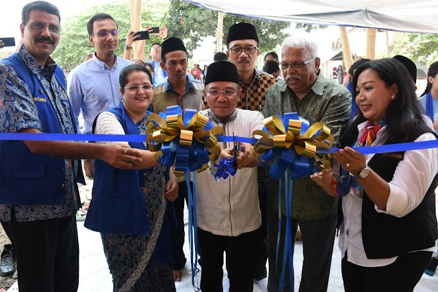 Tiga PAUD Hibah Distric 3420 Rotary NTB Diresmikan Bupati