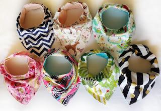 refabulous baby bibs, handmade