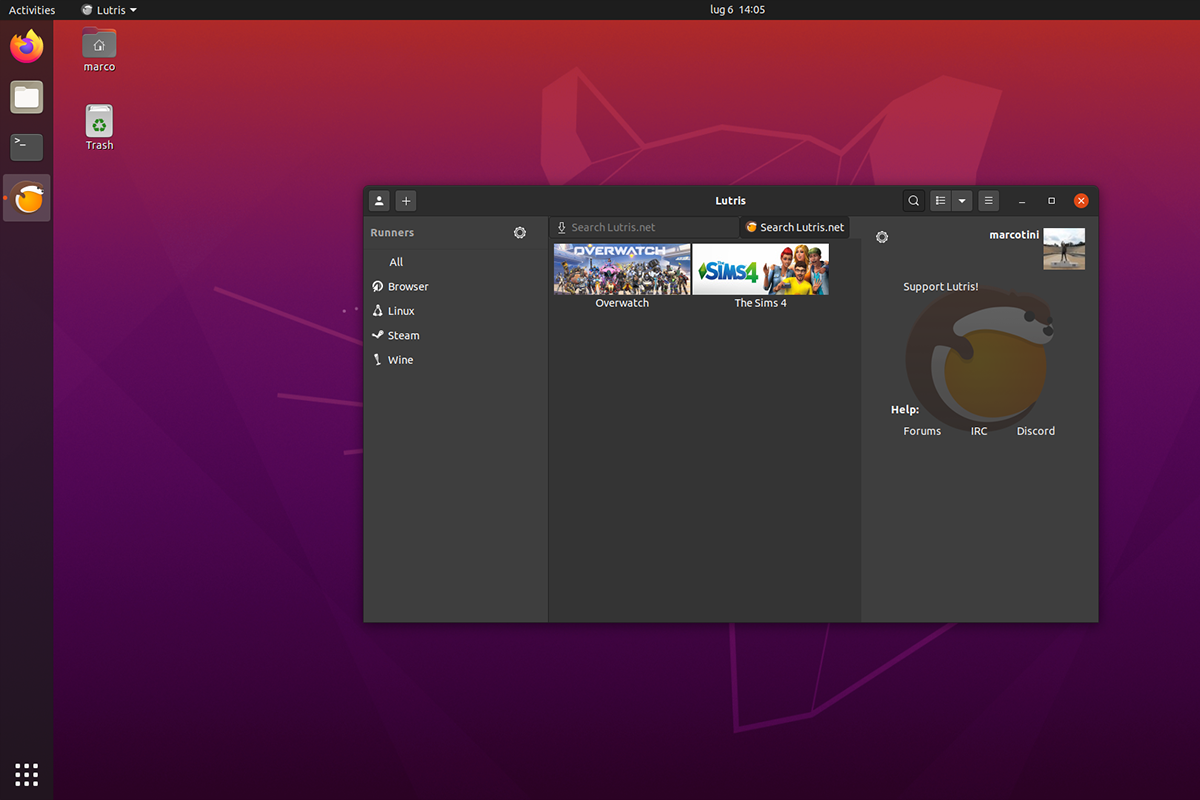 Come installare Lutris su Ubuntu