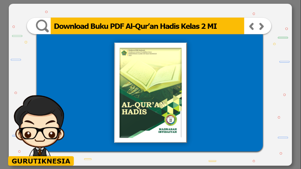 download buku pdf al-quran hadis kelas 2 mi
