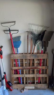 Organizadores ferramentas de jardim