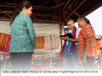 Desa Latdalam Wakili Maluku di Lomba Desa Tingkat Regional IV tahun 2019